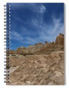 Badlands View From A Trail Spiral Notebook