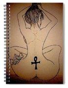 Badu Peaceful  Spiral Notebook