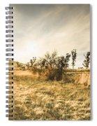 Bagdad Crisp Winter Countryside Spiral Notebook