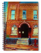 Bagg Street Synagogue Spiral Notebook
