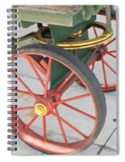 Baggage Cart Spiral Notebook