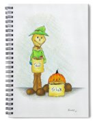 Baggs And Boo Treat Or Trick Spiral Notebook