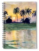 Bahama Palm Trees Spiral Notebook