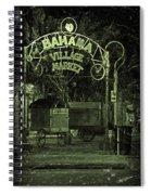 Bahama Village Market Key West Florida Spiral Notebook