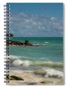 Bahamas Beach Spiral Notebook