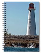 Bahamas Lighthouse Spiral Notebook