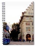 Bahnhofstrasse Zurich Spiral Notebook