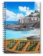 Baie Rouge Spiral Notebook