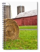 Bail And Barn Spiral Notebook
