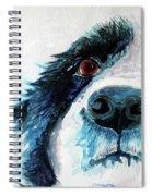 Bailey Our Border Collie Spiral Notebook