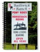 Bailiwick Ranch 5 Spiral Notebook