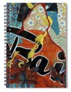 Baiser Spiral Notebook