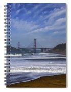 Baker Beach Spiral Notebook