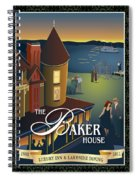 Baker House Endless Sunset Spiral Notebook