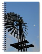Baker Napoleon And The Moon Spiral Notebook