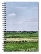 Bakken Crude On Rail Spiral Notebook