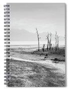 Bako National Park At Low Tide. Spiral Notebook