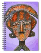 Bakota Reliquary Spiral Notebook