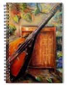 Balalaika Awaiting   Spiral Notebook