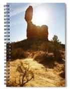 Balancd Rock 3 Spiral Notebook