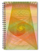 Balance Of Energy Spiral Notebook