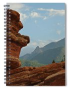 Balanced Rock Spiral Notebook