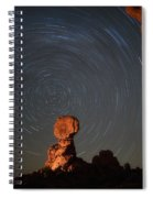 Balanced Spin Spiral Notebook