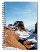Delicate Arch Wide Spiral Notebook