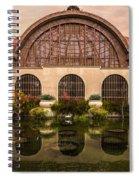 Balboa Park Botanical Building Symmetry Spiral Notebook