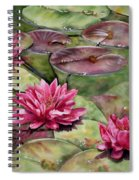 Balboa Water Lilies Spiral Notebook