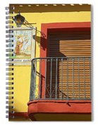 Spanish Balcony Spiral Notebook