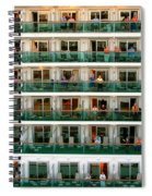 Balcony People Spiral Notebook