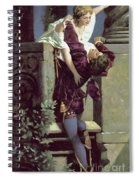 Balcony Scene, Romeo And Juliet Spiral Notebook
