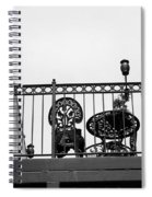 Balcony Table Spiral Notebook