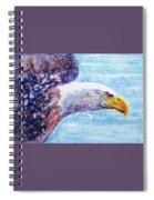 Bald Eagle Portrait 2 Spiral Notebook