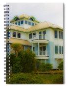 Seaside Getaway  Spiral Notebook
