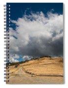 Bald Hills In Summer 2 Spiral Notebook