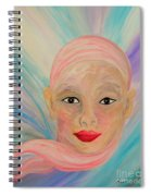 Bald Is Beauty With Brown Eyes Spiral Notebook