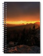 Bald Mountain Sunset Spiral Notebook