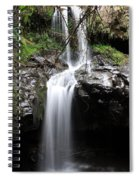 Bale Mountain Waterfall, Ethiopia Spiral Notebook