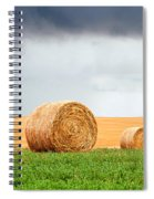 Bales And Layers Spiral Notebook