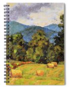 Bales Of August Spiral Notebook