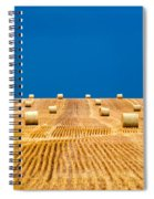 Bales On The Storm Spiral Notebook
