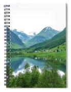 Balestrand Lake Village Spiral Notebook