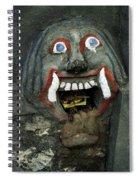 Bali Mask Spiral Notebook