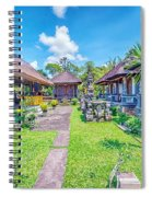 Bali Temple 2123 Spiral Notebook