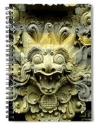Bali Temple Art Spiral Notebook
