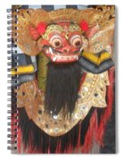 Balinese Barong Spiral Notebook