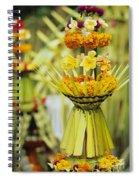Balinese Ceremony Spiral Notebook