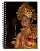 Balinese Dancer Spiral Notebook